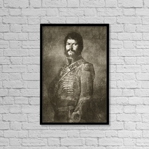"Printscapes Wall Art: 12"" x 18"" Canvas Print With Black Frame - Juan Mart by Ken Welsh"
