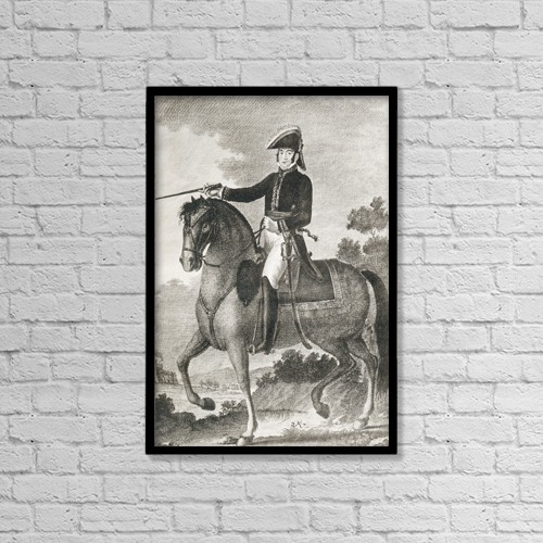 "Printscapes Wall Art: 12"" x 18"" Canvas Print With Black Frame - Francisco Ballesteros, 1770 - 1832 by Ken Welsh"