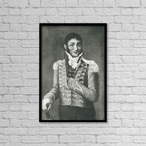 """Printscapes Wall Art: 12"""" x 18"""" Canvas Print With Black Frame - Francisco S by Ken Welsh"""