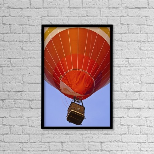 "Printscapes Wall Art: 12"" x 18"" Canvas Print With Black Frame - Transportation by Carlos Sanchez Pereyra"