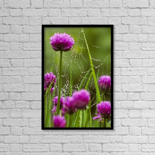 "Printscapes Wall Art: 12"" x 18"" Canvas Print With Black Frame - Scenic by Marion Owen"