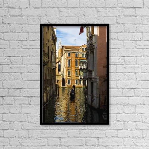 "Printscapes Wall Art: 12"" x 18"" Canvas Print With Black Frame - Lifestyle by Richard Desmarais"