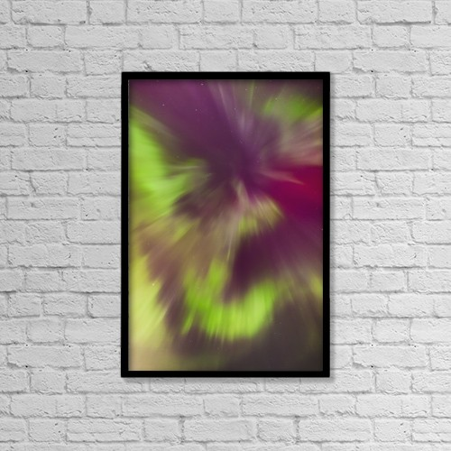"""Printscapes Wall Art: 12"""" x 18"""" Canvas Print With Black Frame - Scenic by Kevin G. Smith"""