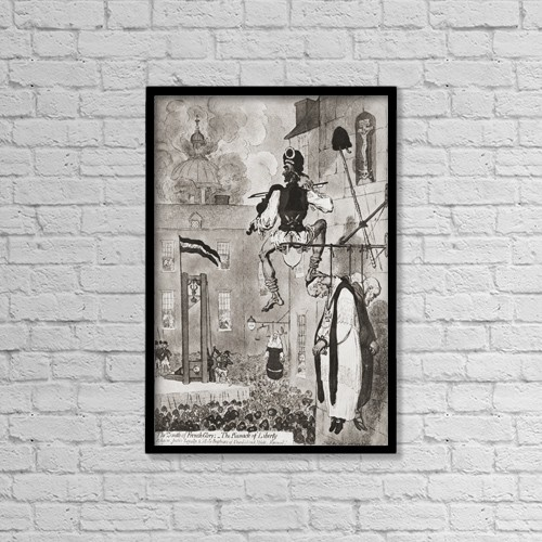 "Printscapes Wall Art: 12"" x 18"" Canvas Print With Black Frame - Lifestyle by Ken Welsh"