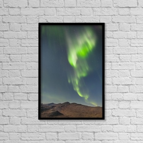 """Printscapes Wall Art: 12"""" x 18"""" Canvas Print With Black Frame - Astronomy by Kevin G. Smith"""