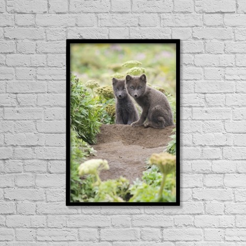 "Printscapes Wall Art: 12"" x 18"" Canvas Print With Black Frame - Lifestyle by John Gibbens"