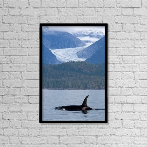 """Printscapes Wall Art: 12"""" x 18"""" Canvas Print With Black Frame - Scenic by John Hyde"""