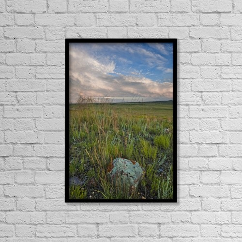 "Printscapes Wall Art: 12"" x 18"" Canvas Print With Black Frame - Scenic by Robert Postma"