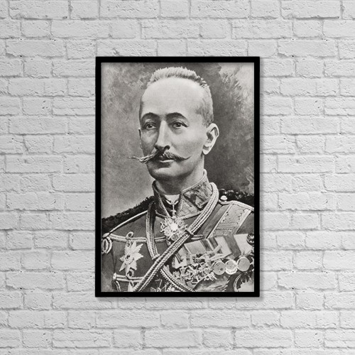"Printscapes Wall Art: 12"" x 18"" Canvas Print With Black Frame - Aleksei Alekseevich Brusilov, 1853 by Ken Welsh"