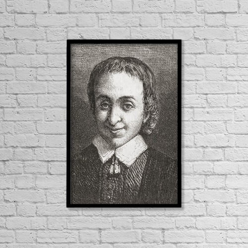 "Printscapes Wall Art: 12"" x 18"" Canvas Print With Black Frame - Isaac Van Ostade, 1621 - 1649 by Ken Welsh"