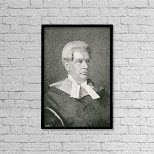 "Printscapes Wall Art: 12"" x 18"" Canvas Print With Black Frame - Sir John Compton Lawrance, 1832 by Ken Welsh"