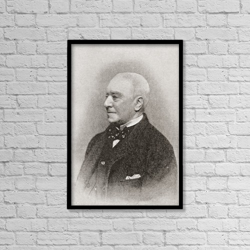 "Printscapes Wall Art: 12"" x 18"" Canvas Print With Black Frame - Henry Hawkins, 1St Baron Brampton, 1817 by Ken Welsh"