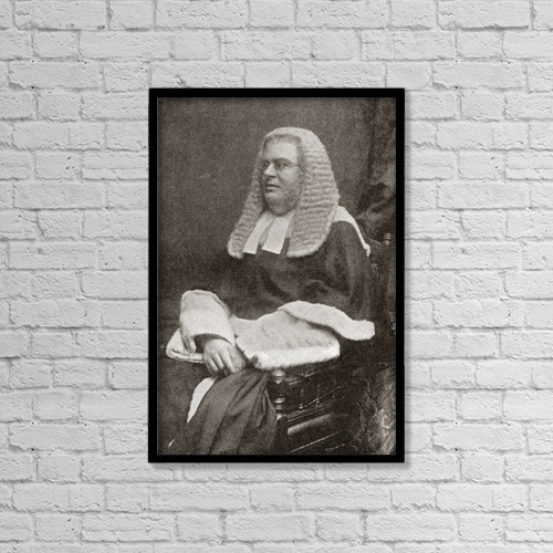 "Printscapes Wall Art: 12"" x 18"" Canvas Print With Black Frame - Lewis William Cave, 1832 by Ken Welsh"