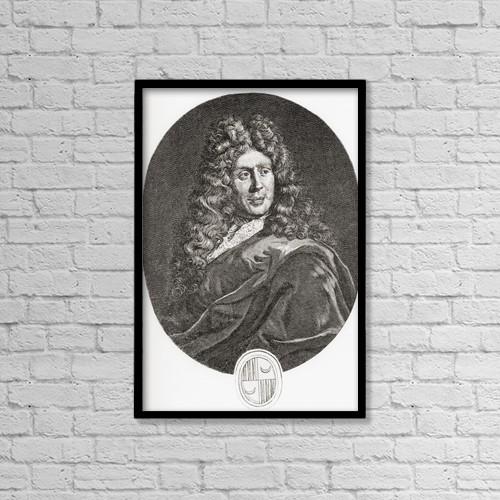 "Printscapes Wall Art: 12"" x 18"" Canvas Print With Black Frame - Isaac De Benserade, 1613 by Ken Welsh"