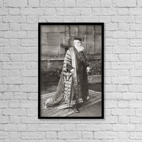 "Printscapes Wall Art: 12"" x 18"" Canvas Print With Black Frame - Creative Imagery by Ken Welsh"