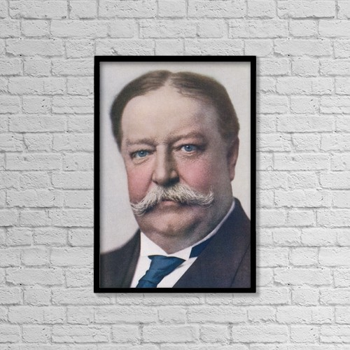 "Printscapes Wall Art: 12"" x 18"" Canvas Print With Black Frame - William Howard Taft, 1857 To 1930 by Ken Welsh"