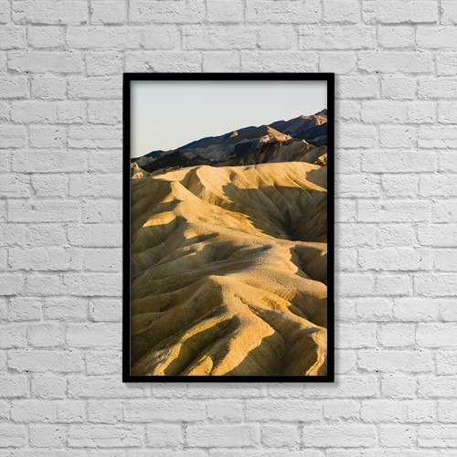 "Printscapes Wall Art: 12"" x 18"" Canvas Print With Black Frame - Nature by Richard Desmarais"