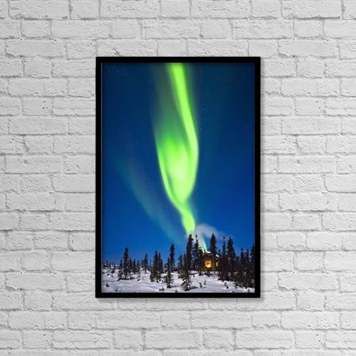 "Printscapes Wall Art: 12"" x 18"" Canvas Print With Black Frame - Scenic by Kevin G. Smith"