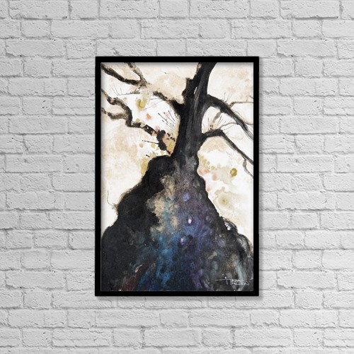 "Printscapes Wall Art: 12"" x 18"" Canvas Print With Black Frame - Nature by Tara Thelen"