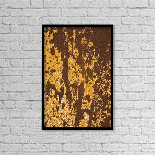 """Printscapes Wall Art: 12"""" x 18"""" Canvas Print With Black Frame - Architectural Exteriors by Perry Mastrovito"""
