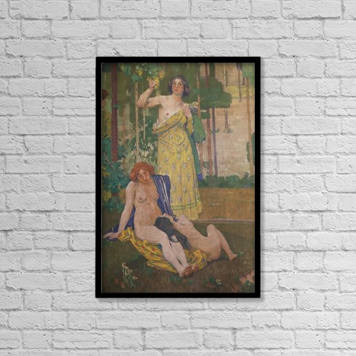 """Printscapes Wall Art: 12"""" x 18"""" Canvas Print With Black Frame - Other by Mark Thomas"""