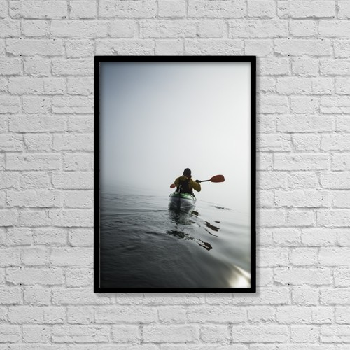 """Printscapes Wall Art: 12"""" x 18"""" Canvas Print With Black Frame - Sports and Recreation by John Hyde"""
