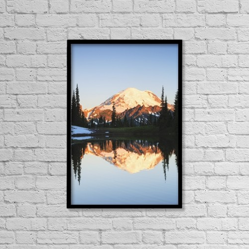 "Printscapes Wall Art: 12"" x 18"" Canvas Print With Black Frame - Scenic by Stuart Westmorland"