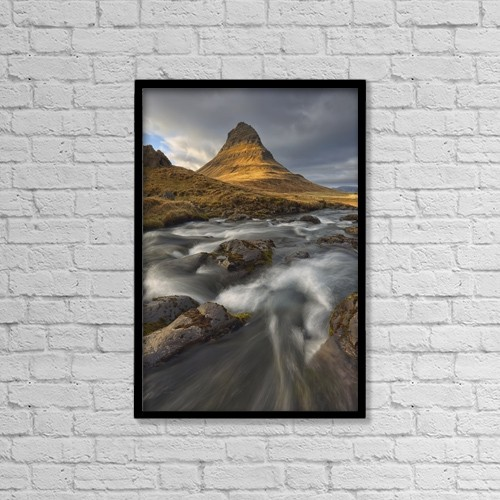 "Printscapes Wall Art: 12"" x 18"" Canvas Print With Black Frame - Nature by Robert Postma"