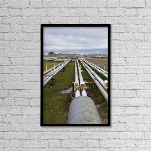 "Printscapes Wall Art: 12"" x 18"" Canvas Print With Black Frame - Scenic by Lucas Payne"