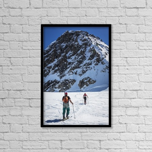 "Printscapes Wall Art: 12"" x 18"" Canvas Print With Black Frame - Sports and Recreation by Jim Kohl"