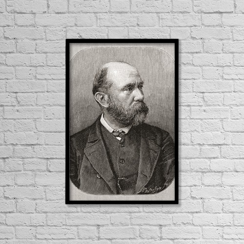 "Printscapes Wall Art: 12"" x 18"" Canvas Print With Black Frame - William Mctaggart, 1835 by Ken Welsh"