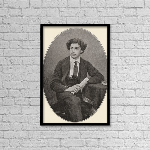 "Printscapes Wall Art: 12"" x 18"" Canvas Print With Black Frame - Sir Arthur Seymour Sullivan, 1842 by Ken Welsh"