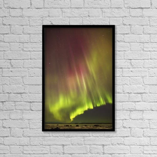 "Printscapes Wall Art: 12"" x 18"" Canvas Print With Black Frame - Astronomy by Kevin G. Smith"