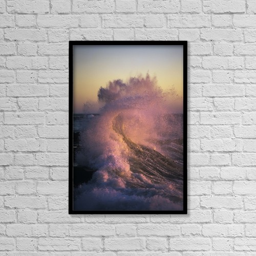 "Printscapes Wall Art: 12"" x 18"" Canvas Print With Black Frame - Nature by Robert L. Potts"