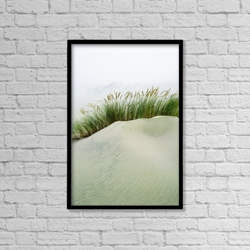 "Printscapes Wall Art: 12"" x 18"" Canvas Print With Black Frame - Weather by Robert L. Potts"