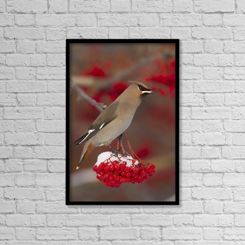 "Printscapes Wall Art: 12"" x 18"" Canvas Print With Black Frame - Creative Imagery by Doug Lindstrand"