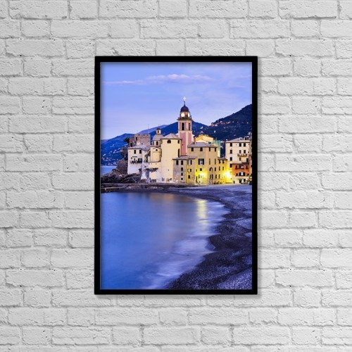 "Printscapes Wall Art: 12"" x 18"" Canvas Print With Black Frame - Travel by Yves Marcoux"