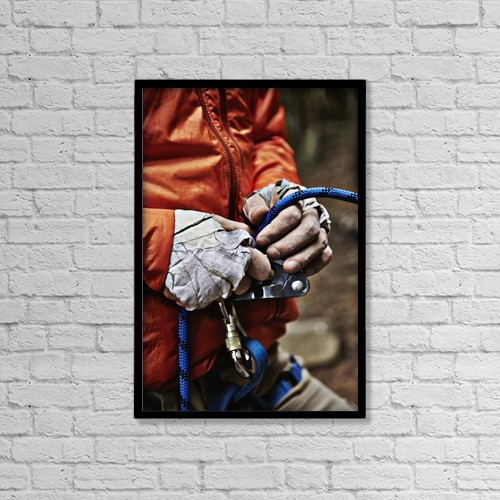 "Printscapes Wall Art: 12"" x 18"" Canvas Print With Black Frame - Sports and Recreation by Roderick Chen"