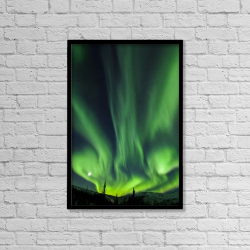 "Printscapes Wall Art: 12"" x 18"" Canvas Print With Black Frame - Scenic by Sunny Awazuhara- Reed"