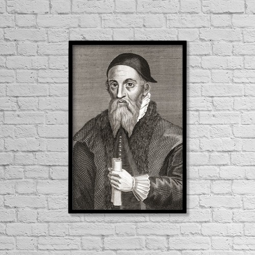 "Printscapes Wall Art: 12"" x 18"" Canvas Print With Black Frame - Alexander Erskine Of Gogar, C by Ken Welsh"