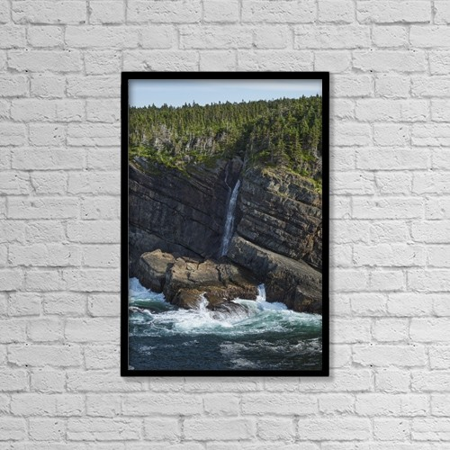 "Printscapes Wall Art: 12"" x 18"" Canvas Print With Black Frame - Scenic by Carl Bruemmer"
