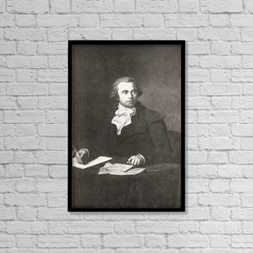 "Printscapes Wall Art: 12"" x 18"" Canvas Print With Black Frame - Jules Fran by Ken Welsh"