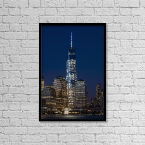 "Printscapes Wall Art: 12"" x 18"" Canvas Print With Black Frame - Travel by F. M. Kearney"