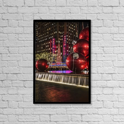 "Printscapes Wall Art: 12"" x 18"" Canvas Print With Black Frame - Special Occasions by F. M. Kearney"