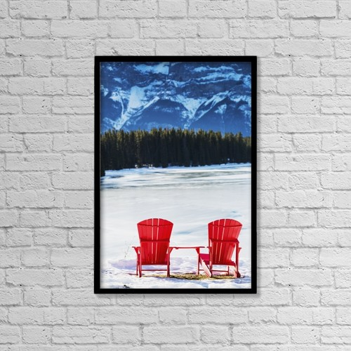 """Printscapes Wall Art: 12"""" x 18"""" Canvas Print With Black Frame - Scenic by Michael Interisano"""