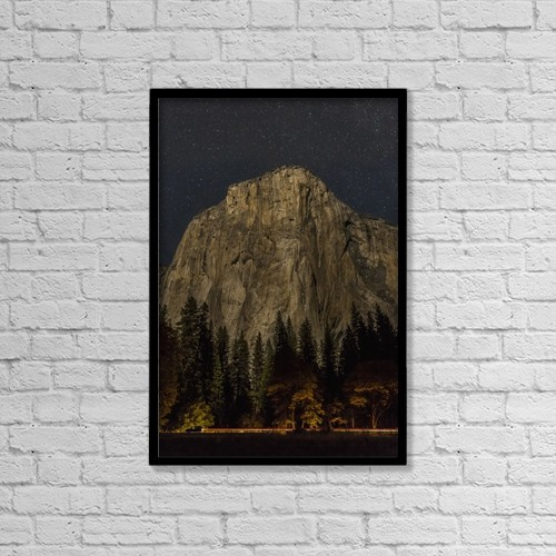 """Printscapes Wall Art: 12"""" x 18"""" Canvas Print With Black Frame - Travel by Tracy Barbutes"""
