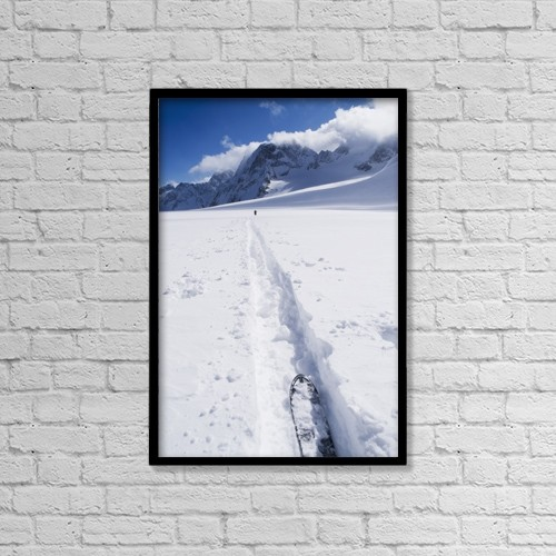 "Printscapes Wall Art: 12"" x 18"" Canvas Print With Black Frame - Lifestyle by Penny Kendall"