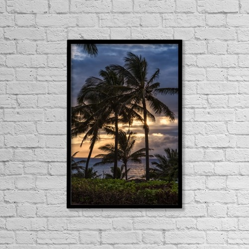 "Printscapes Wall Art: 12"" x 18"" Canvas Print With Black Frame - Scenic by Scott Mead"
