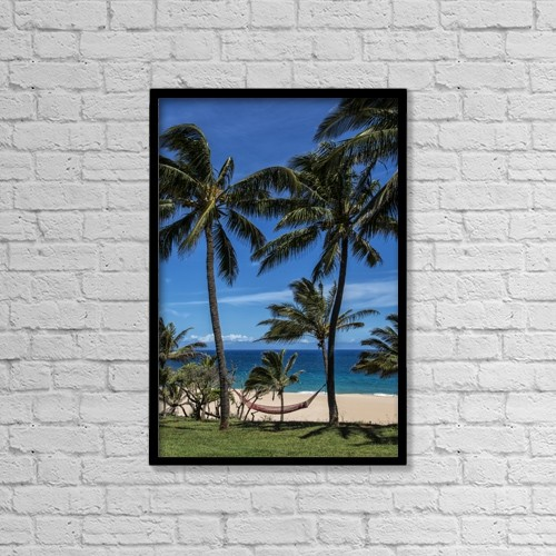 """Printscapes Wall Art: 12"""" x 18"""" Canvas Print With Black Frame - Travel by Scott Mead"""