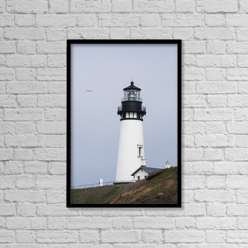 "Printscapes Wall Art: 12"" x 18"" Canvas Print With Black Frame - Nautical by Robert L. Potts"